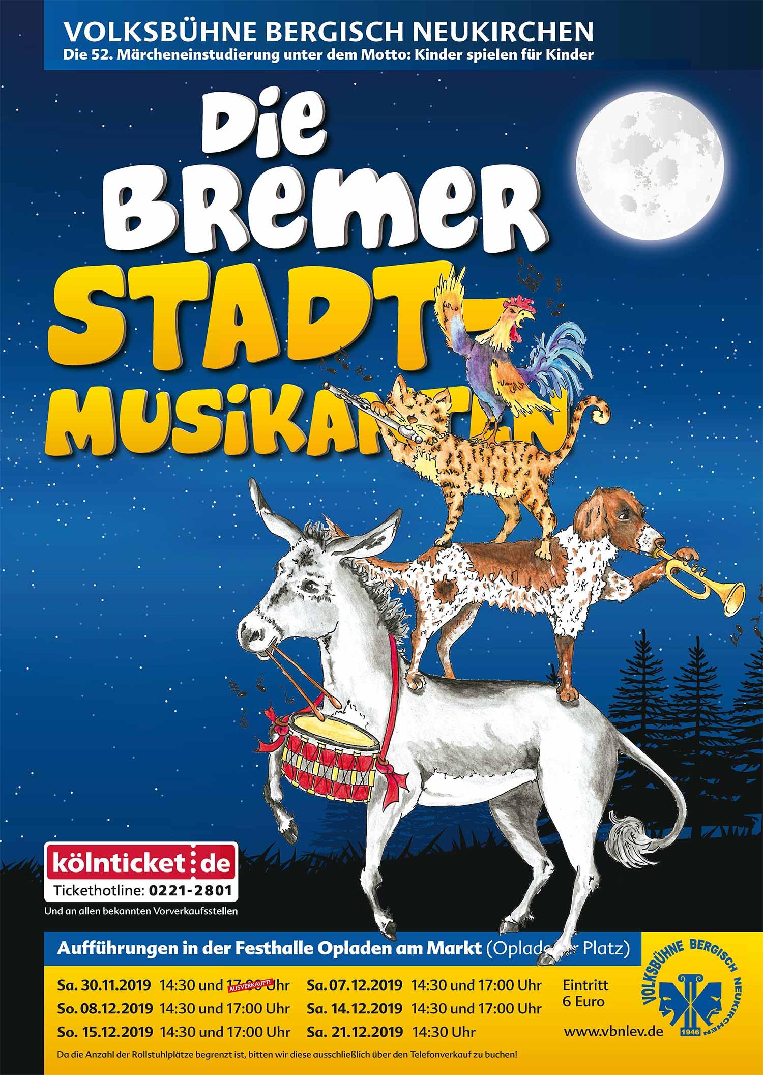 Volksbühne Bergisch Neukirchen - Die Bremer Stadtmusikanten