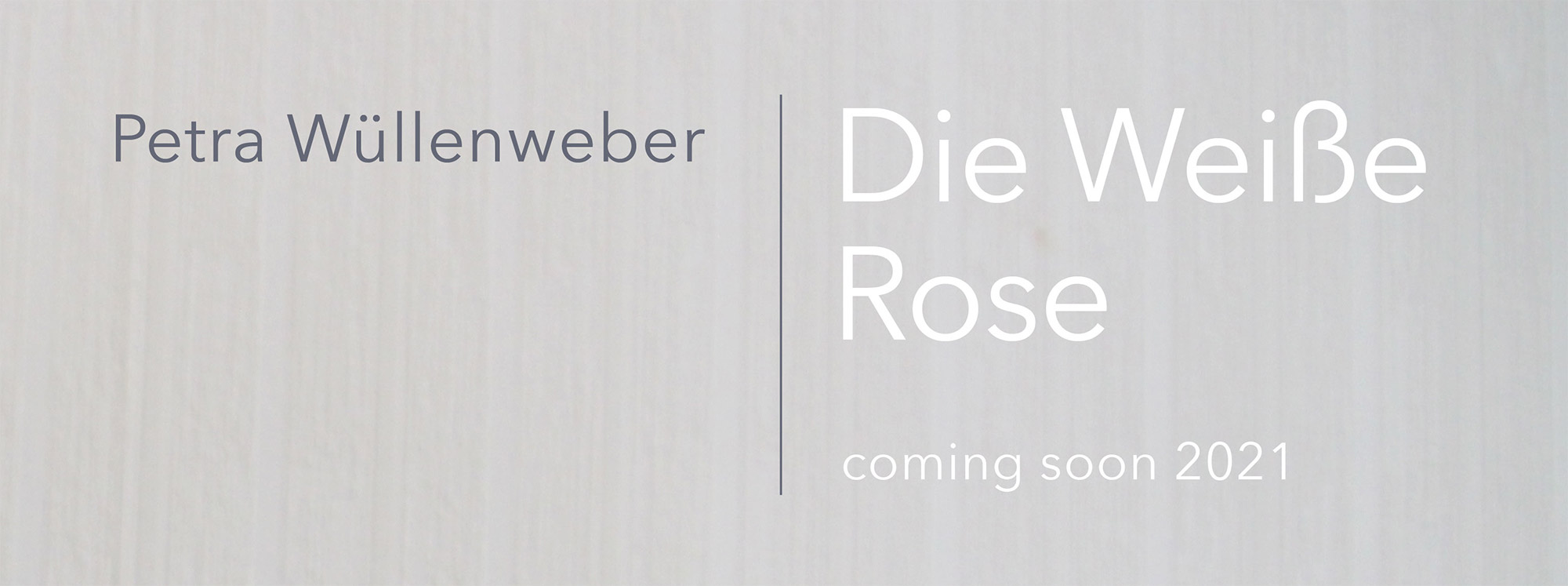 Die Weiße Rose - Schauspiel 2021